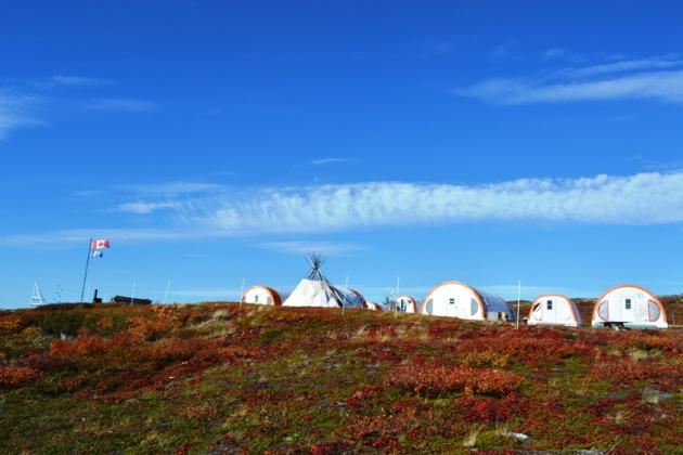 Tundra Ecosystem Research Station, Daring Lake  (Photo: Susan Beaumont, WRRB)