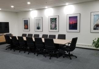 New WRRB boardroom following renovations in 2019.
