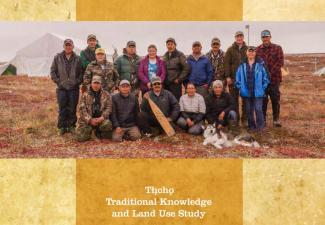 2019 Ekwǫ̀ Nàxoède K'è Report Cover. Credit: Tłı̨chǫ Research and Training Institute