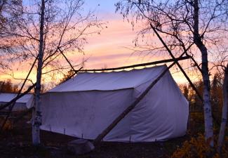 "TAEMP ""Fish Camp"", Gamètì, 2017. Photo Credit: Anneli Jokela, Regulatory Manager, WLWB."