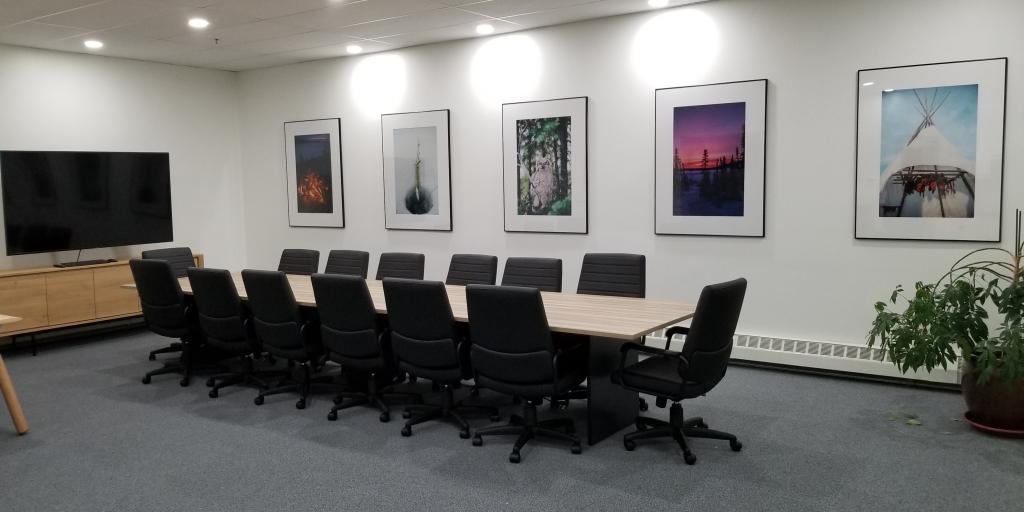 New WRRB boardroom following renovations in 2019.